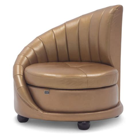 Contemporary Leather Lounge Chairs by Chelsey Contemporary Comfortable Leather Lounge Chair