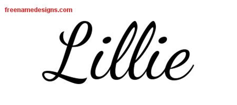 lillie name