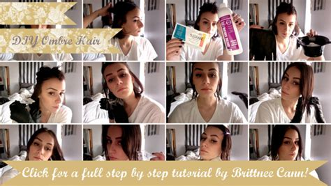 Do It Yourself Ombre Hair Step By Step | oh the lovely things obsession ombre hair with diy