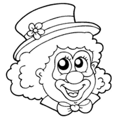 coloring pages of clown hats clown 187 coloring pages 187 surfnetkids