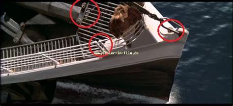 film titanic wahre geschichte fehler bug titanic aus dem film titanic 1997