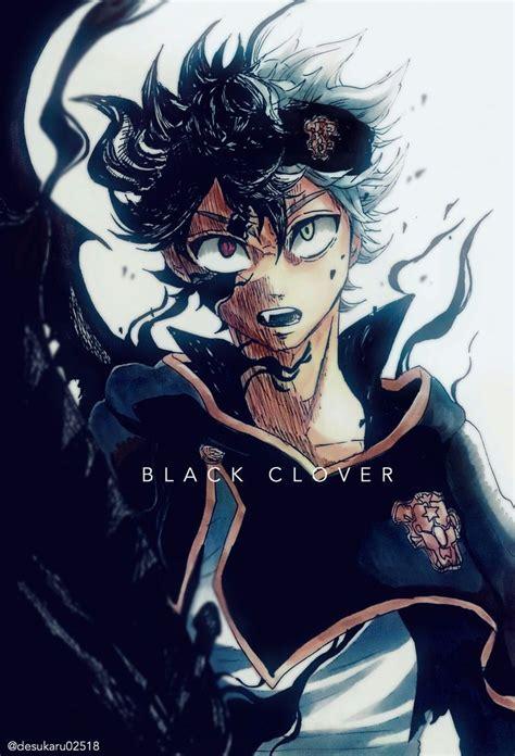 black asta black clover blackclover demon anime