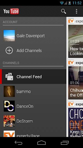 android layout like youtube how to implement quot splitview quot on android phone not tabled