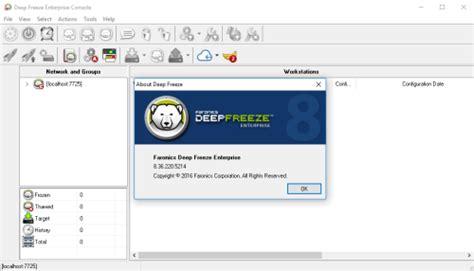 deep freeze full version free download xp deep freeze enterprise 8 36 220 5214 crack serial key free