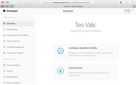 apple documentation check out redesigned account pages on apple s developer