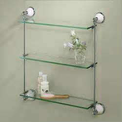 glass shelves bathroom wall the different types that available in bathroom shelves