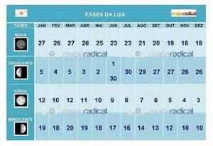 Calendario Da Lua 2017 Fases Da Lua 2017 Mapa Radical Autoconhecimento E