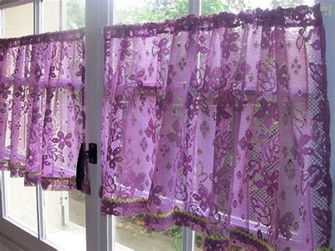 best 25 purple kitchen curtains ideas on