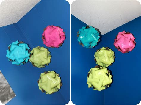 Make Paper Sphere - diy how to make colored paper spheres catch my