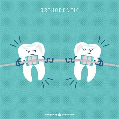 imagenes odontologicas chistosas vector ortodoncia estilo c 243 mic descargar vectores gratis