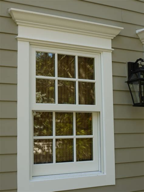 inspirations stunning exterior window trim ideas