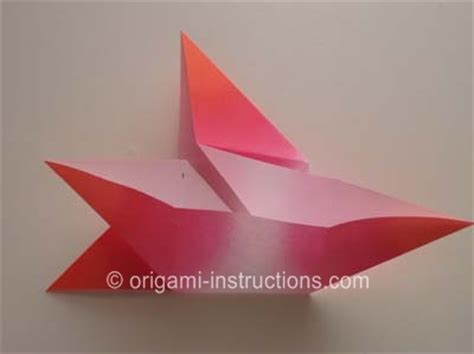 Origami Four Pointed - origami 4 pointed folding how to fold