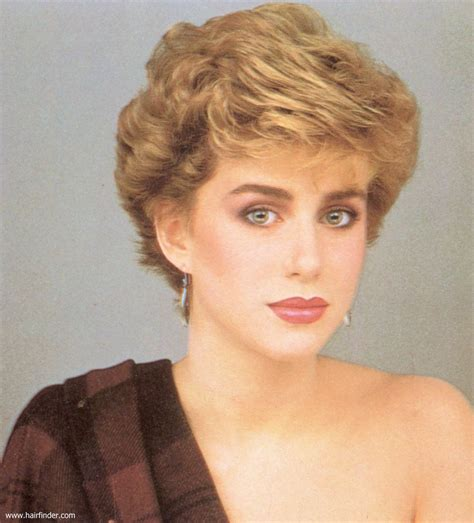 1980s super short haircuts for women short 1980s vintage hairstyle with volume and heights