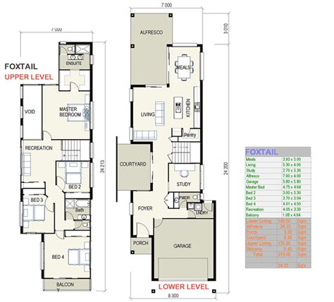 House Plans For Narrow Lot by How To The Right Townhouse Floor Plans