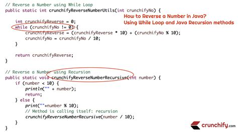 pattern java number how to reverse a number in java using while loop and java