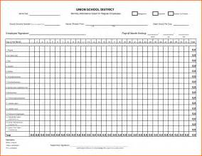 Excel Sheet Template by Attendance Sheet Excel Template Masir