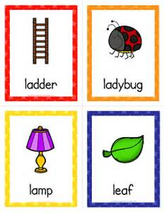 Gift Ideas Start Letter L Things That Start With L Cards Alphabet Printables A Wellspring