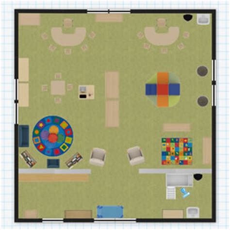 toddler room floor plan classroom floorplanner