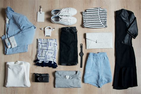 Travel Wardrobes by Building A Capsule Wardrobe W11