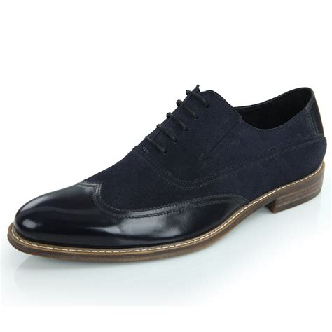 two tone mens shoes classic pointy toe two tone oxfords shoes fashion mens