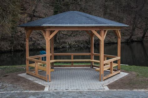 Bauanleitung Pavillon Holz