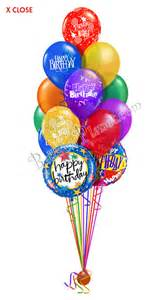 balloon delivery for birthday classic combo birthday balloon bouquet 15 balloons balloon delivery by balloonplanet