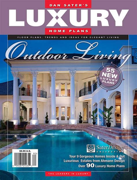 luxury home design magazine luxury home plans magazine 7 sater design collection