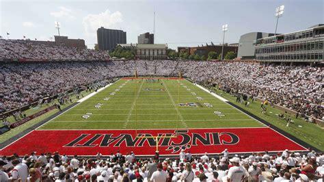 Cincinnati Newspaper Sports Section by Nippert Stadium Construction Update August 5 2015
