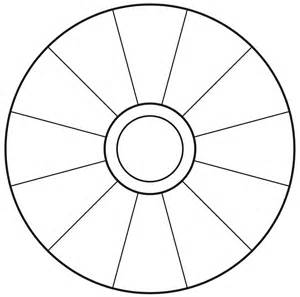 wheel template empty focus wheel to print vortexfocus