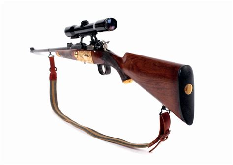 Sale Gunting rifle of late dictator nicolae ceausescu on sale at bucharest auction