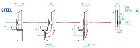 Handrail Stanchion Steel Stanchions