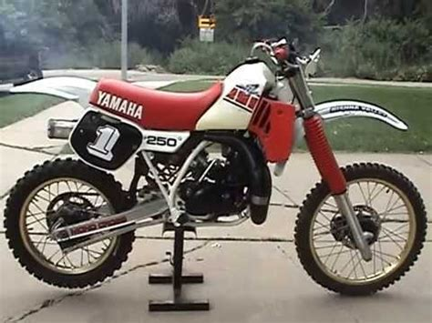 sle of z test for two sles 1985 yamaha yz250 test start 0714