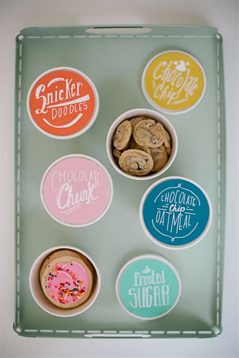 design label cookies printable cookie packaging labels julep