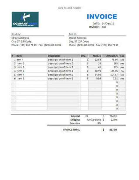 sle invoices templates for word invoice for sale hardhost info