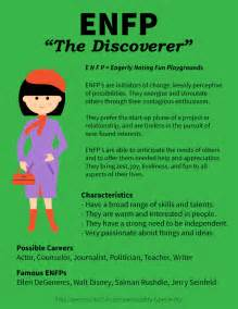 Profile of enfp personality the discoverer