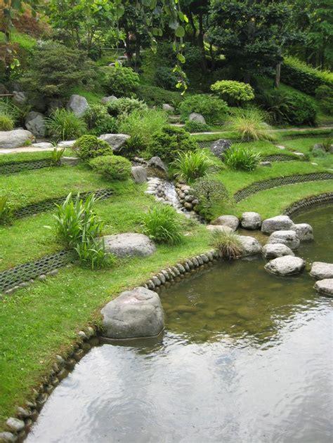 patio japonais 254 best jardin en pente sloping garden images on