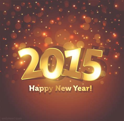 new year design inspiration 30 beautiful new year greetings card designs for your