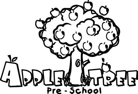 preschool coloring pages apple tree best picture apple tree coloring page preschool coloring