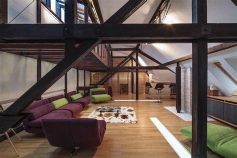 attic loft loft conversion in bucharest romania by tecon