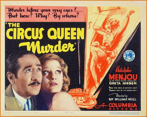 film circus queen mh events 1933