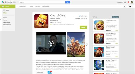 new play store web ui is rolling out for app listings