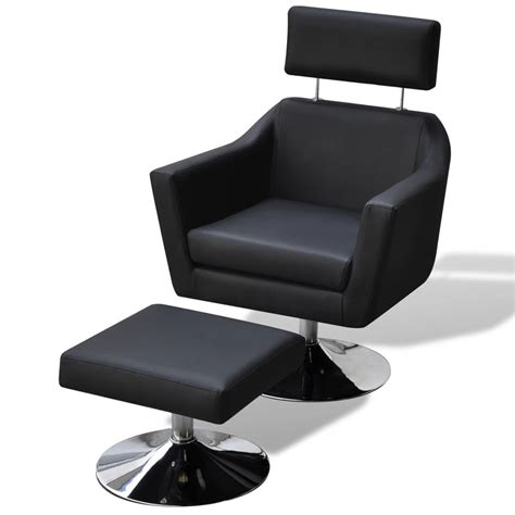 tv armchair vidaxl tv armchair artificial leather black www vidaxl