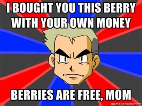 Prof Oak Memes - image 190578 professor oak know your meme
