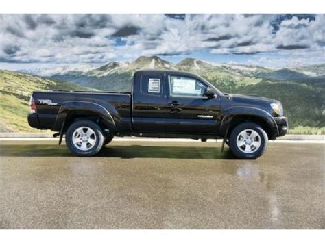 2011 Toyota Tacoma Trd Sport Specs by 2011 Toyota Tacoma Trd Sport Access Cab 4x4 Data Info And