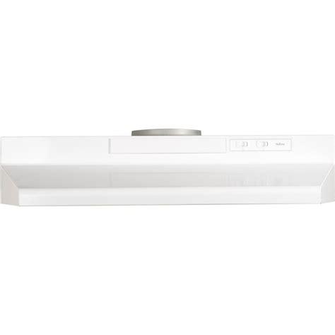 30 inch under cabinet range hood nutone 30 inch 180 cfm convertible under cabinet range
