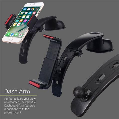 Smartphone Holder Dashboard Mobil Black olixar multi position universal smartphone car holder black