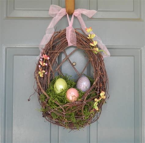 easter wreath ideas 26 creative and easy handmade easter wreath designs