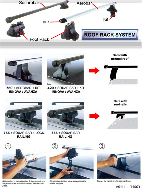 Roof Rack Avanza toyota avanza roof rail
