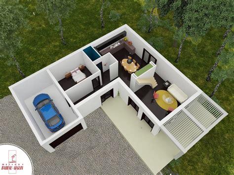 House Plans With 3 Car Garage Senza Maison Moderne 224 233 Tage