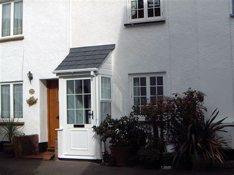 Glass Roof House exmoor windows porch gallery